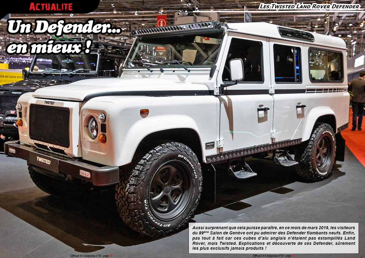 les Twisted Land Rover Defender
