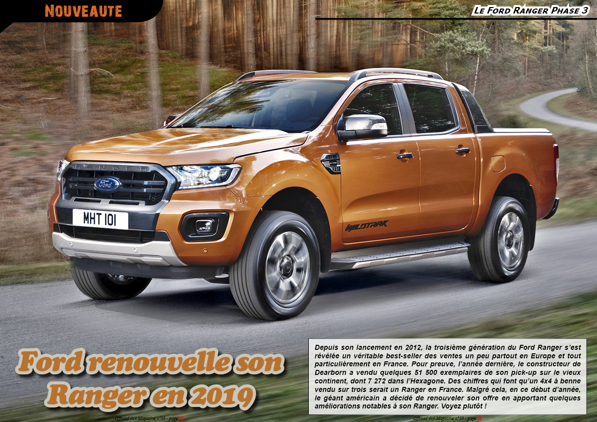 le Ford Ranger Phase 3