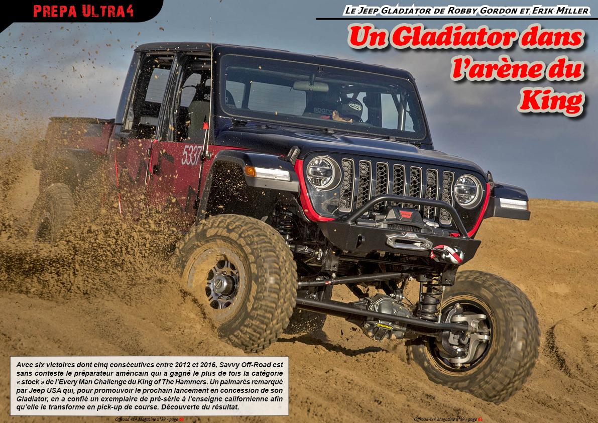 le Jeep Gladiator de Robby Gordon et Erik Miller