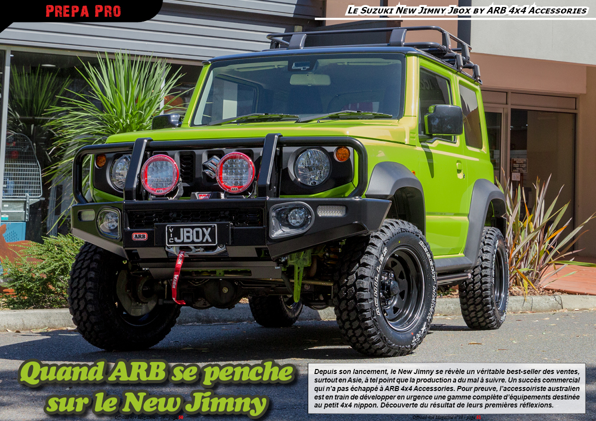 le Suzuki New Jimny Jbox by ARB 4x4 Accessories
