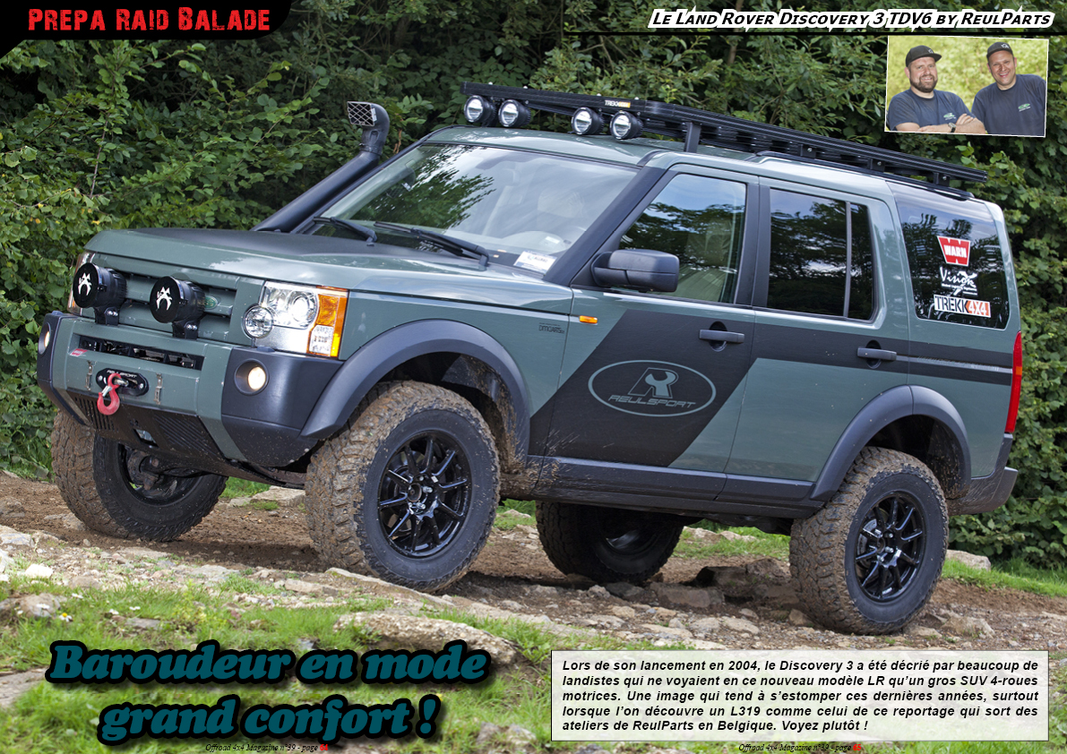 le Land Rover Discovery 3 TDV6 by ReulParts