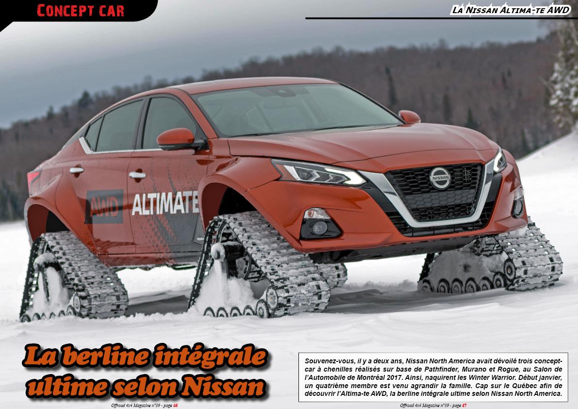 la Nissan Altima-te AWD