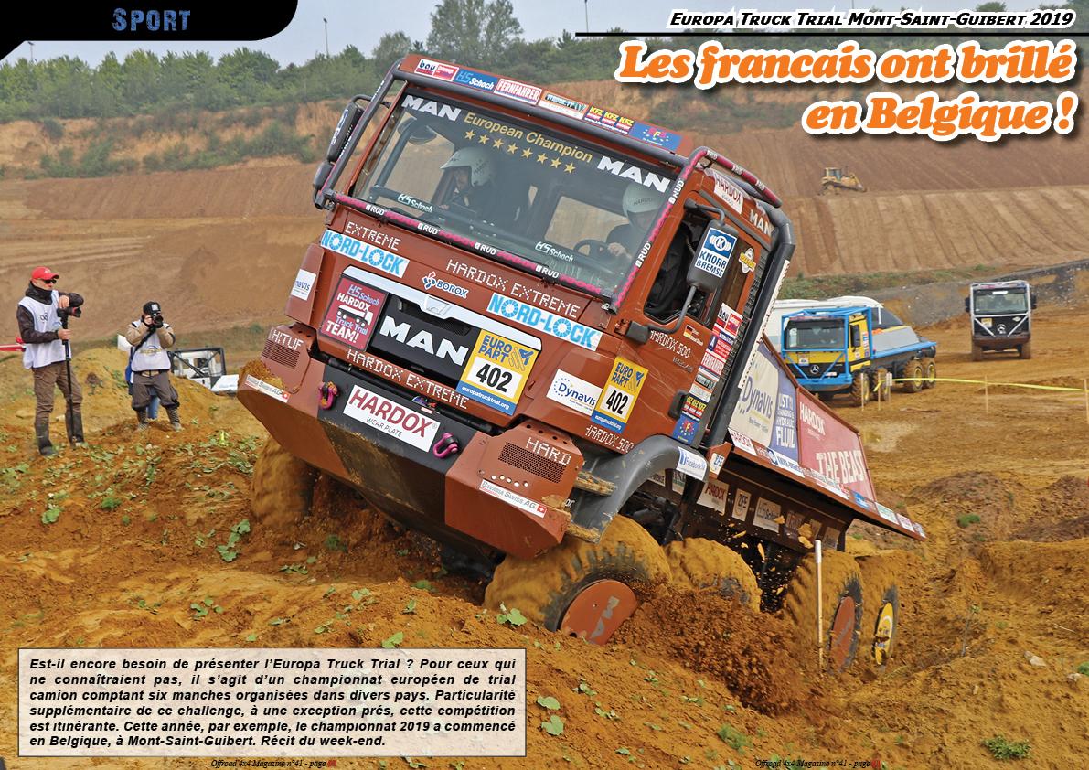 Europa Truck Trial Mont-Saint-Guibert 2019