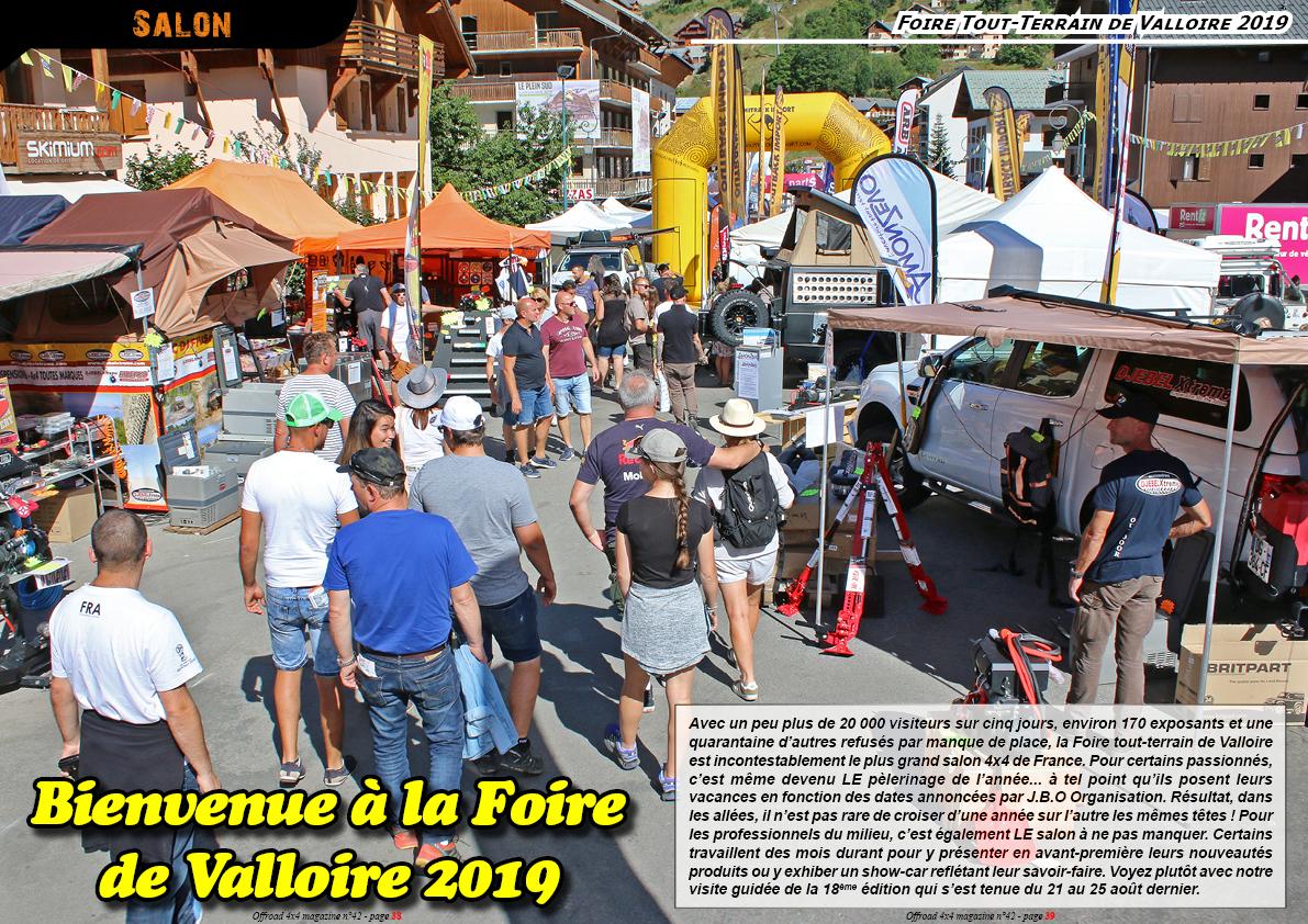 la Foire Tout-Terrain de Valloire 2019