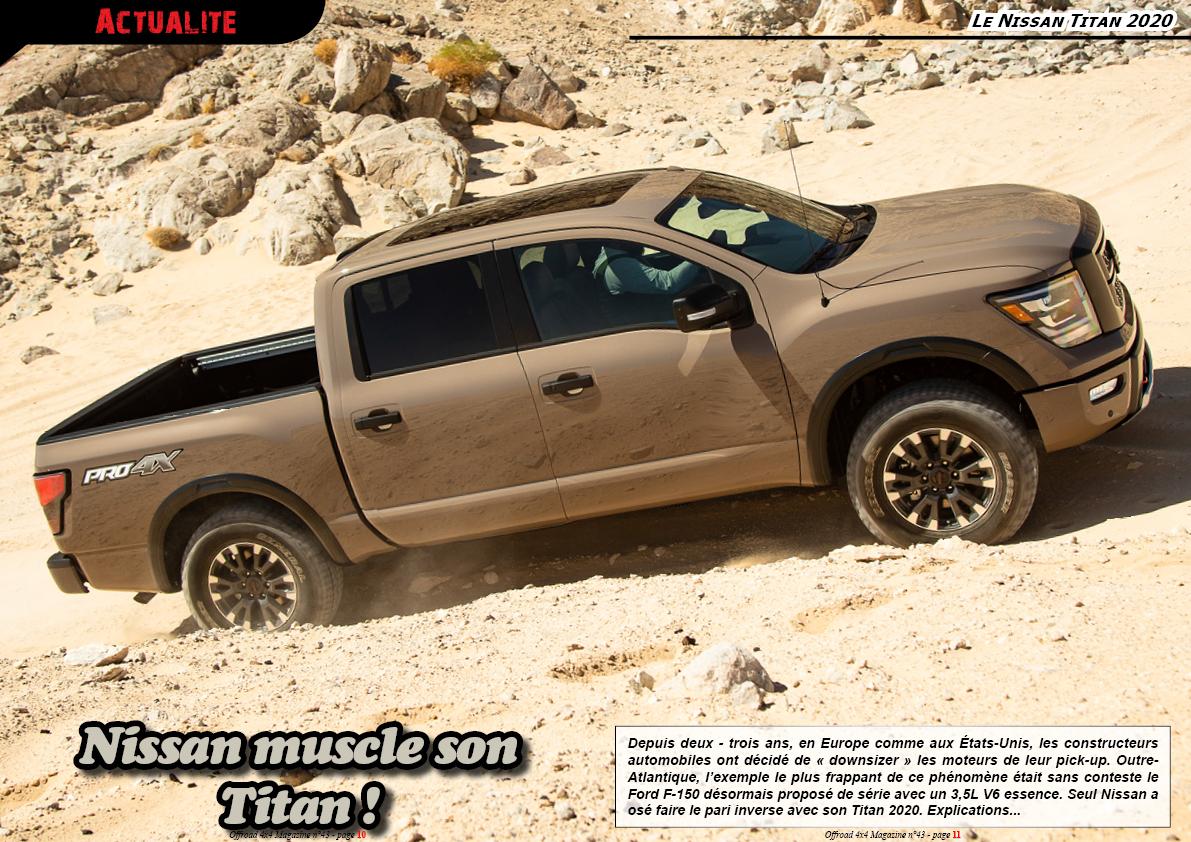 le Nissan Titan 2020