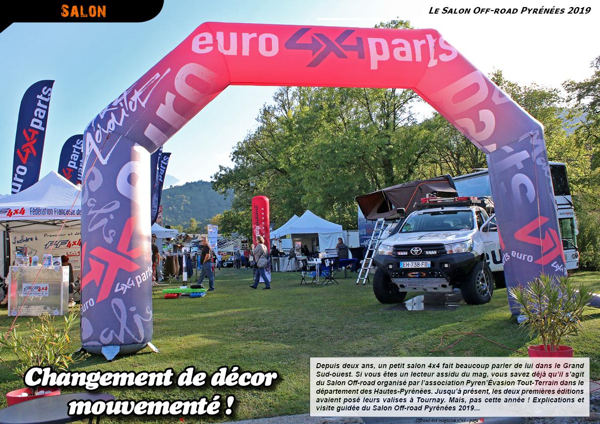 le Salon Off-road Pyrénées 2019