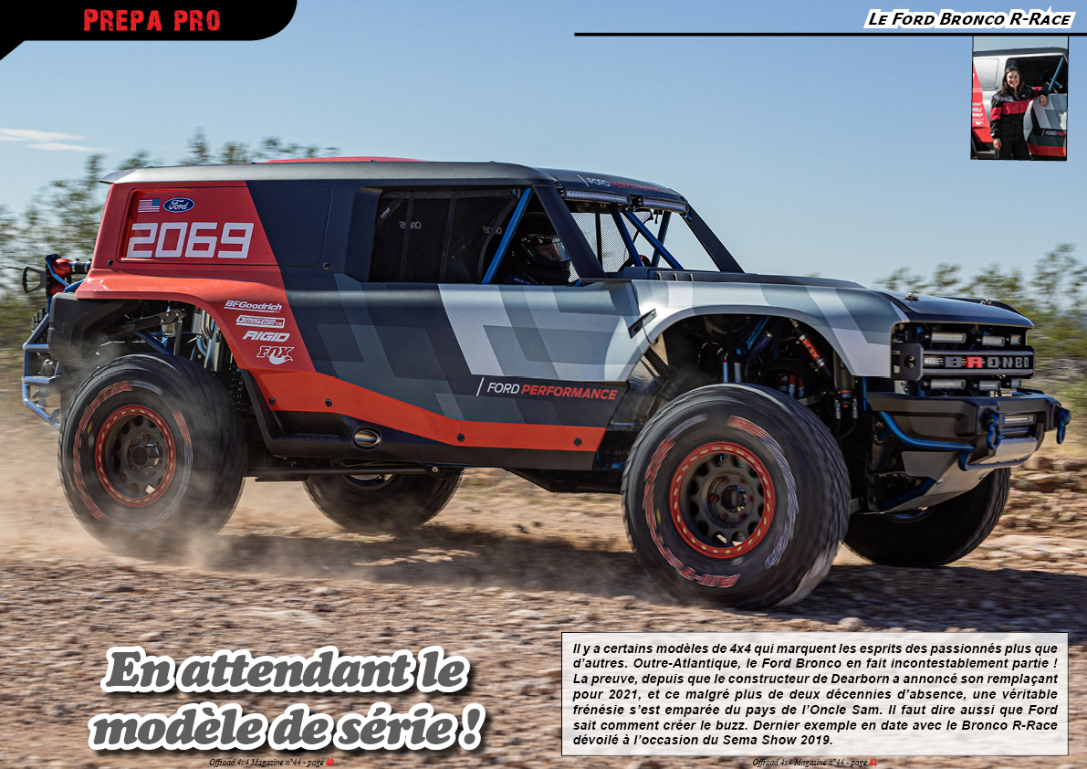 le Ford Bronco R-Race