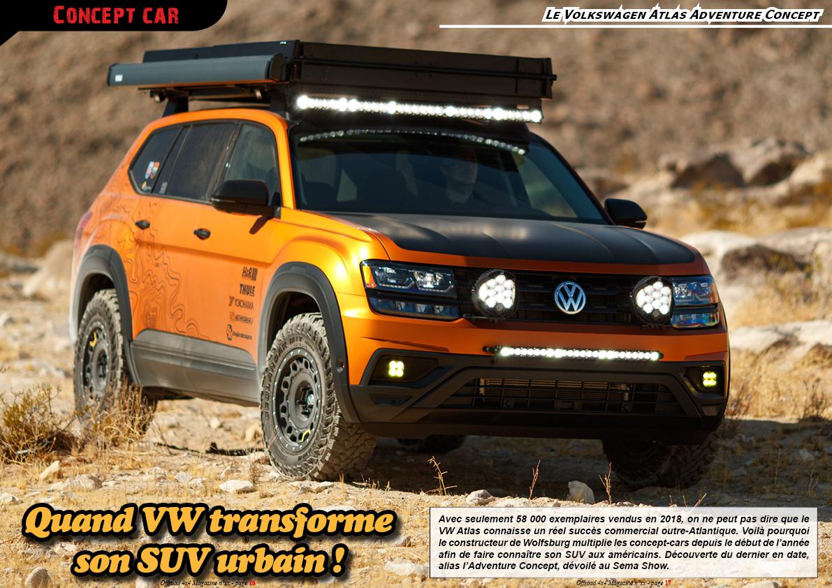 le Volkswagen Atlas Adventure Concept