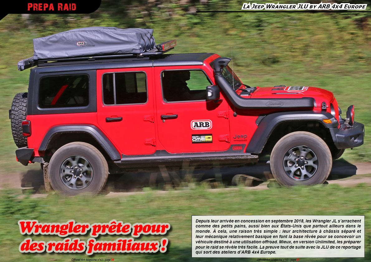 la Jeep Wrangler JLU by ARB 4x4 Europe