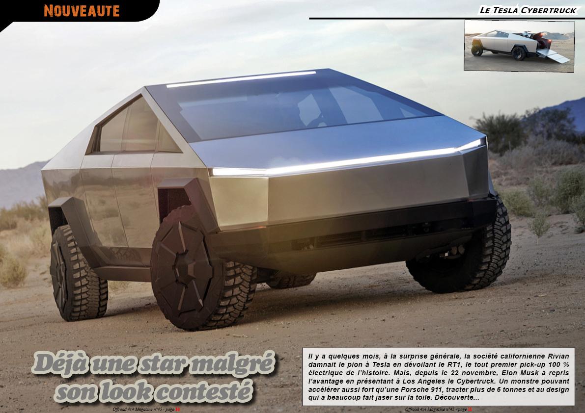 le Tesla Cybertruck