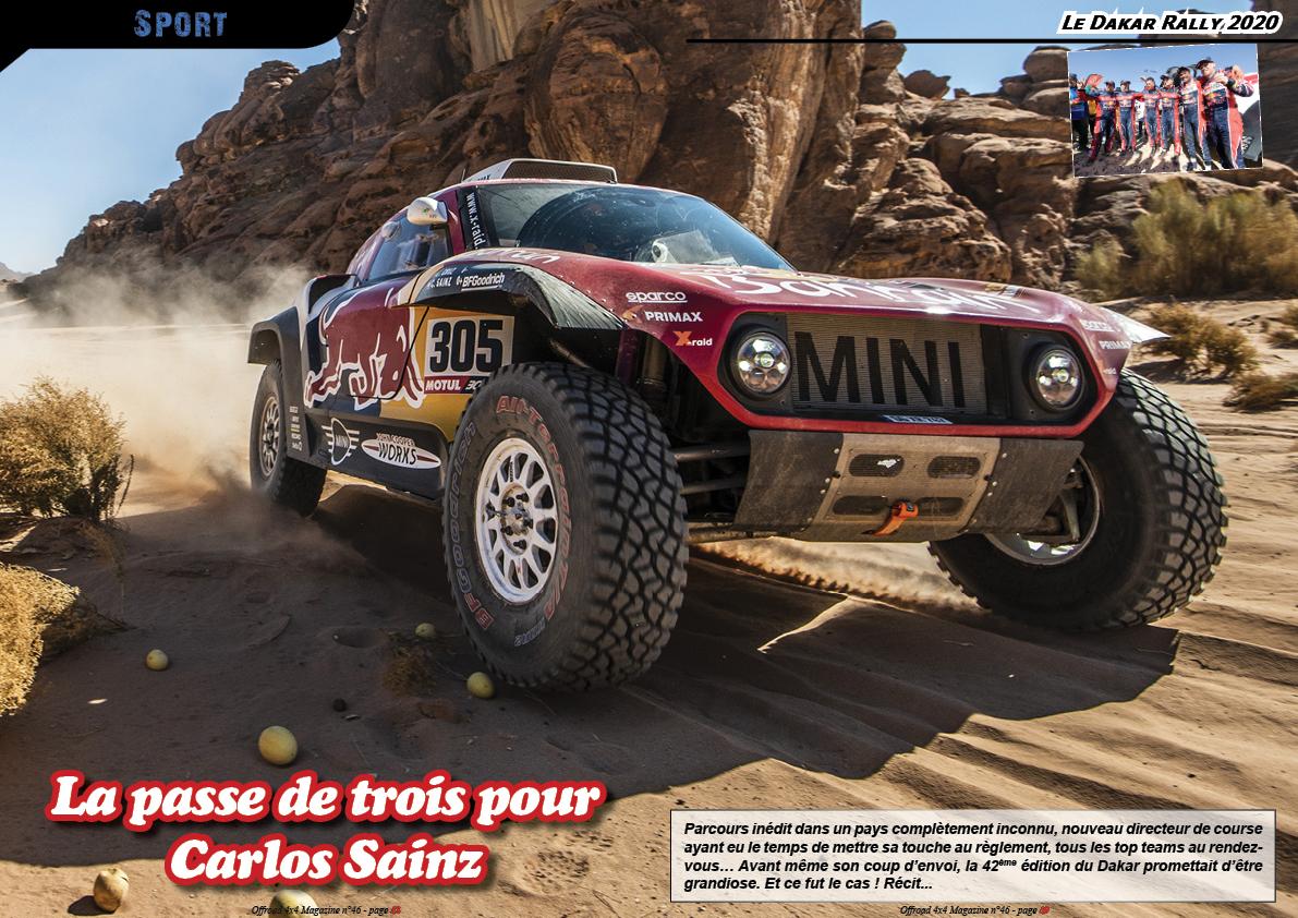 le Dakar Rally 2020