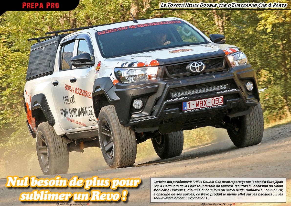 Le Toyota Hilux d 'Eurojapan Car & Parts