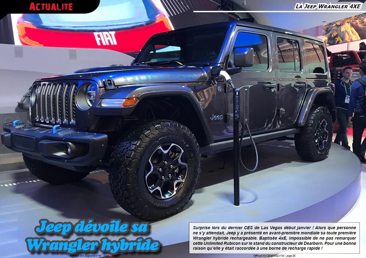 la Jeep Wrangler 4xE