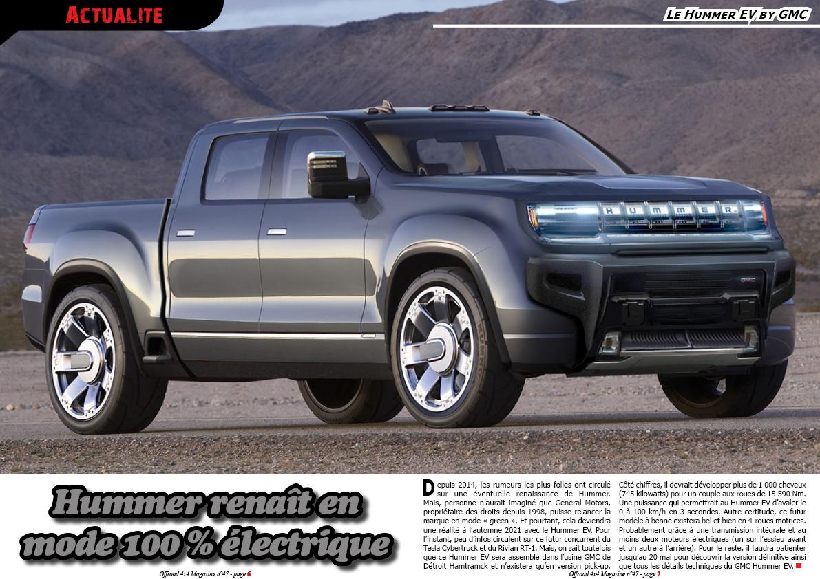 le Hummer EV by GMC