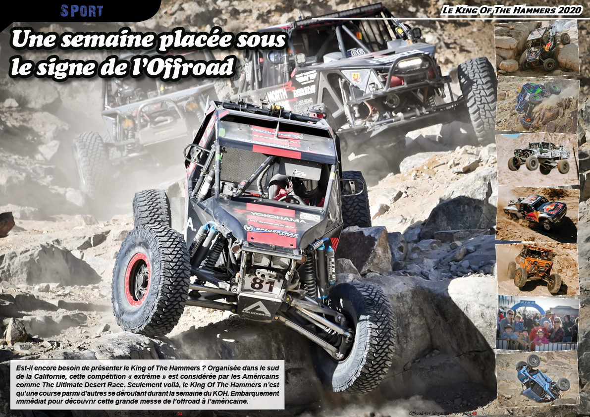 le King Of The Hammers 2020