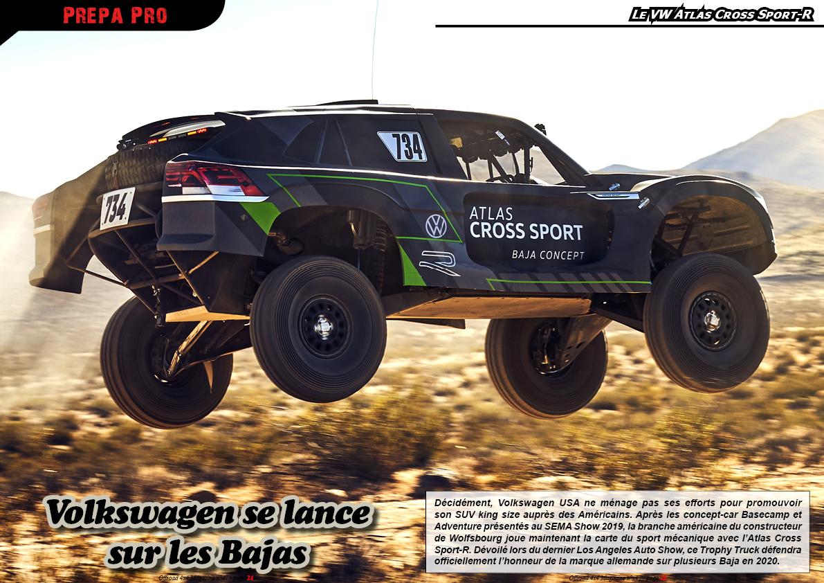 le VW Atlas Cross Sport-R