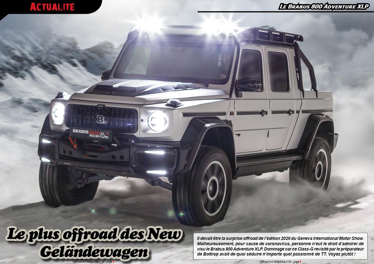 le Brabus 800 Adventure XLP