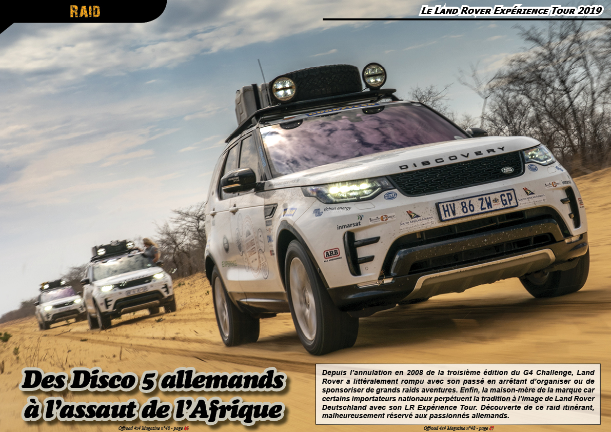 le Land Rover Expérience Tour 2019