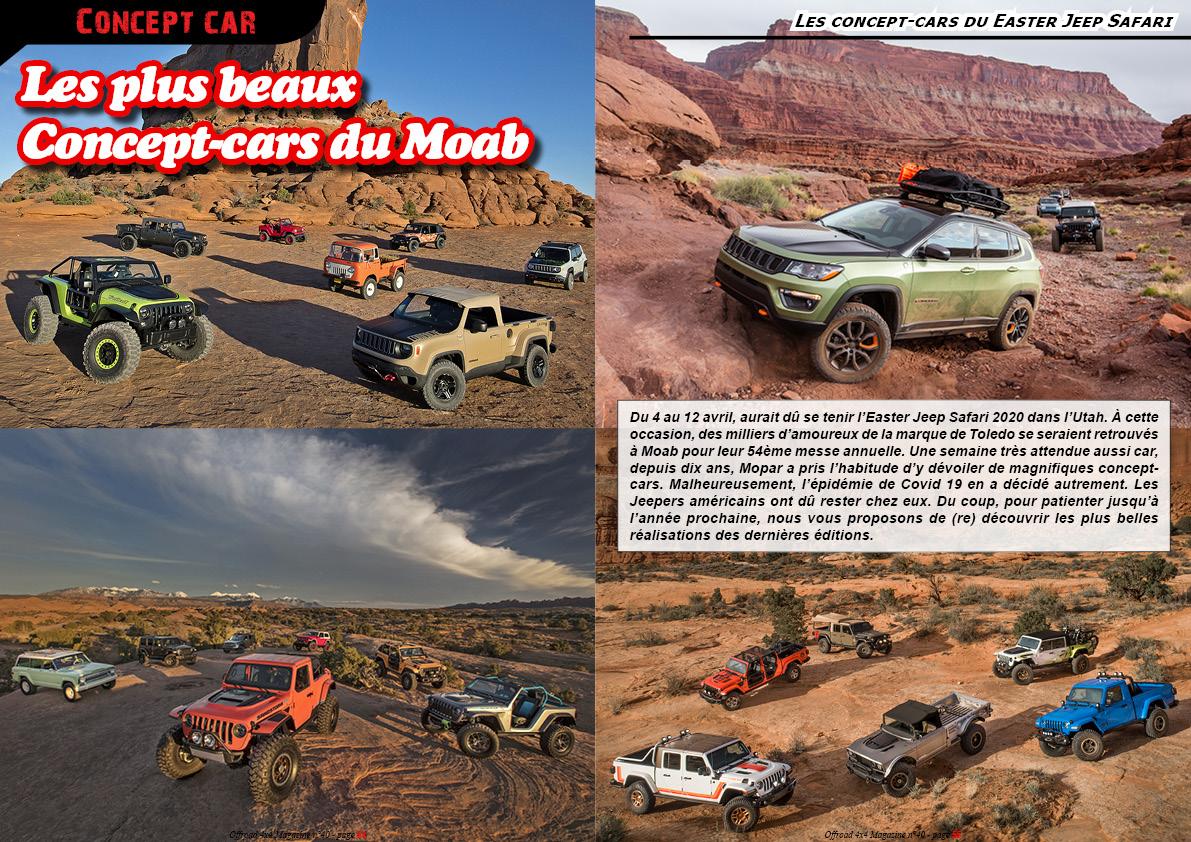 Les plus beaux concept-cars Jeep du Moab