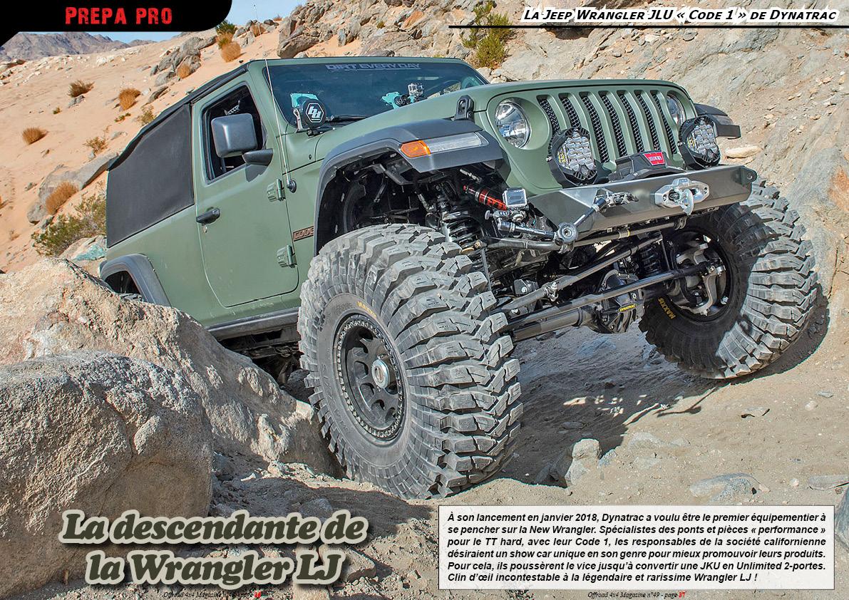 la Jeep Wrangler Code 1 de Dynatrac