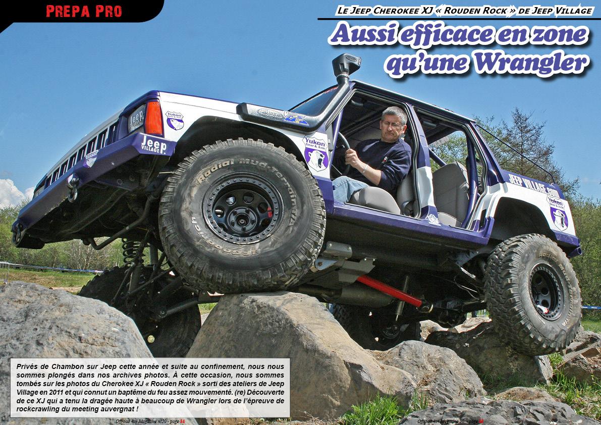 Le Jeep XJ Rockcrawling de Jeep Village