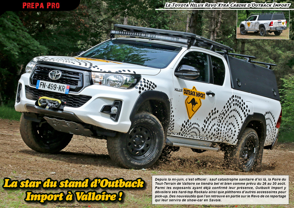 Toyota Hilux Revo Outback Import