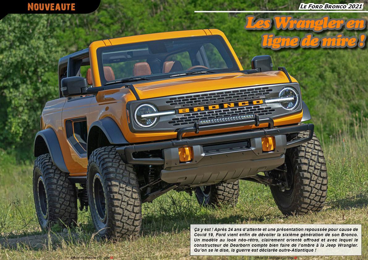 le Ford Bronco 2021