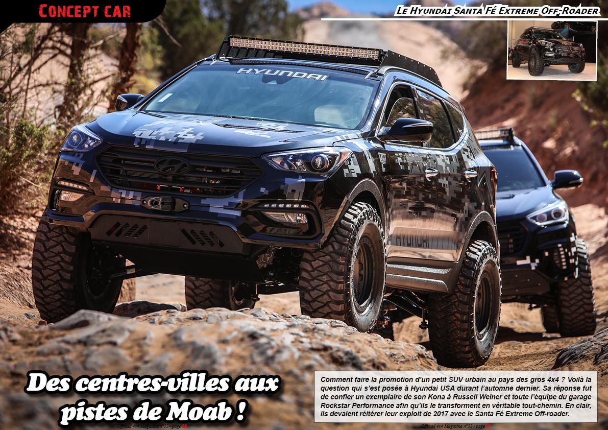Le Hyundai Santa Fe Extreme Off-Roader