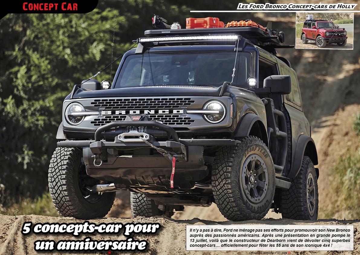 les Ford Bronco Concept-cars de Holly