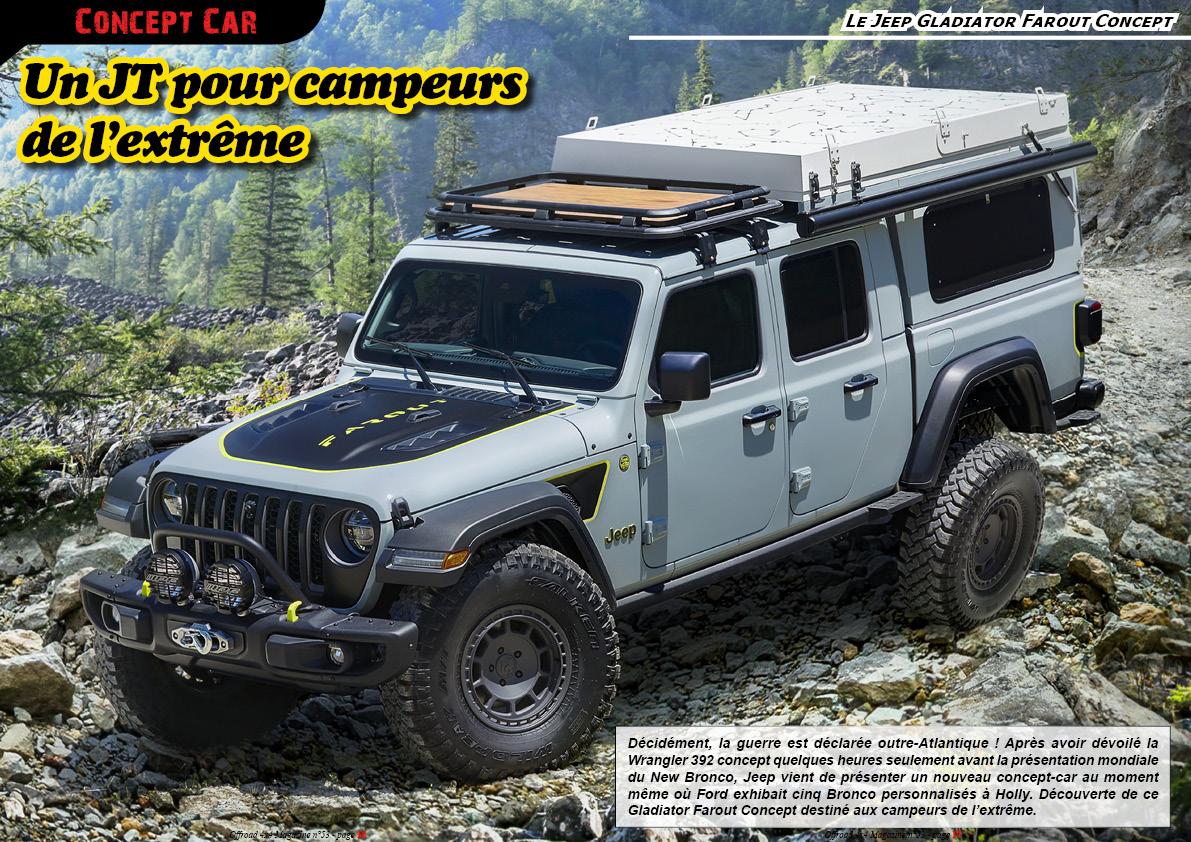 le Jeep Gladiator Farout Concept