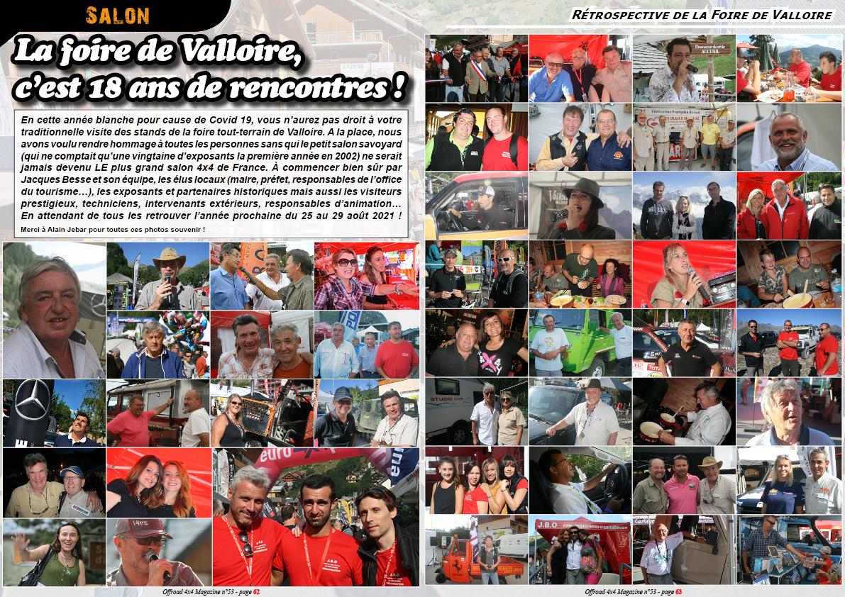 La rétrospective de la foire de Valloire
