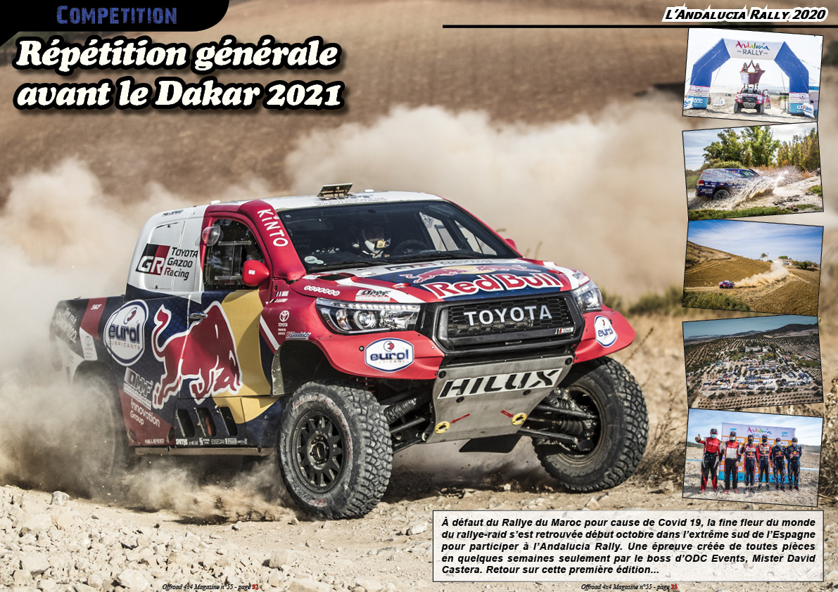 L' Andalucia Rally 2020