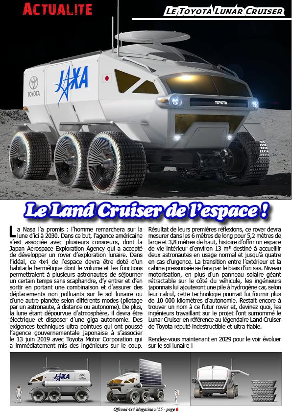 Le Toyota Lunar Cruiser