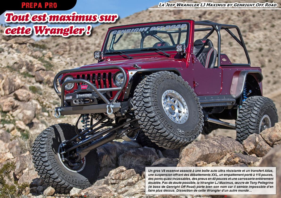 la Jeep Wrangler LJ Maximus by Genright Off Road