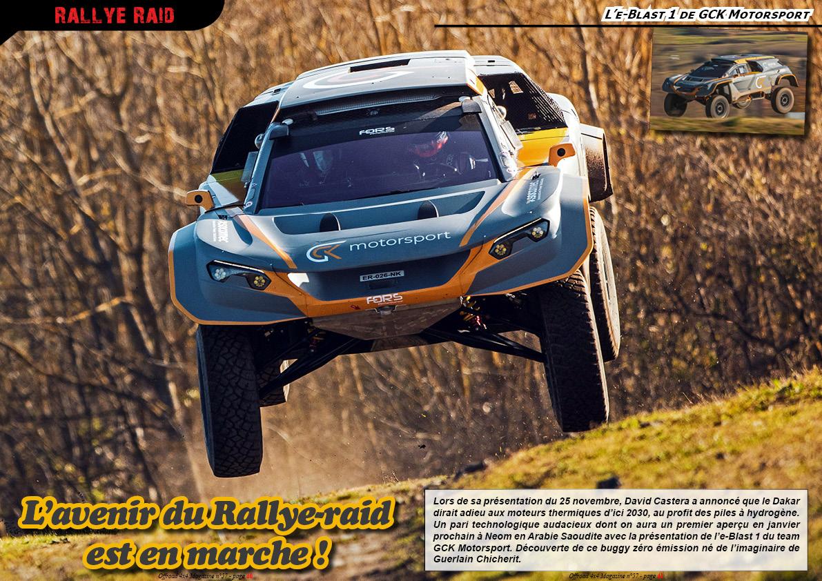 l'e-Blast 1 de GCK Motorsport