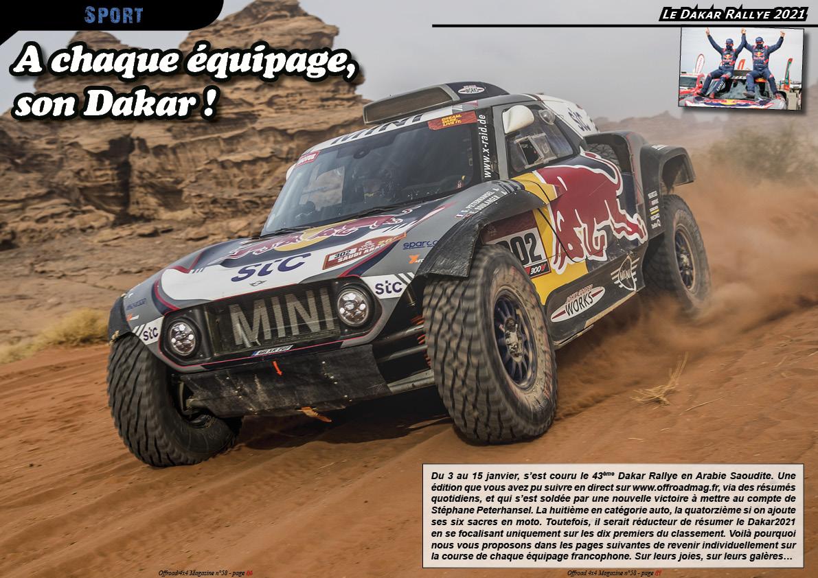 le Dakar Rallye 2021