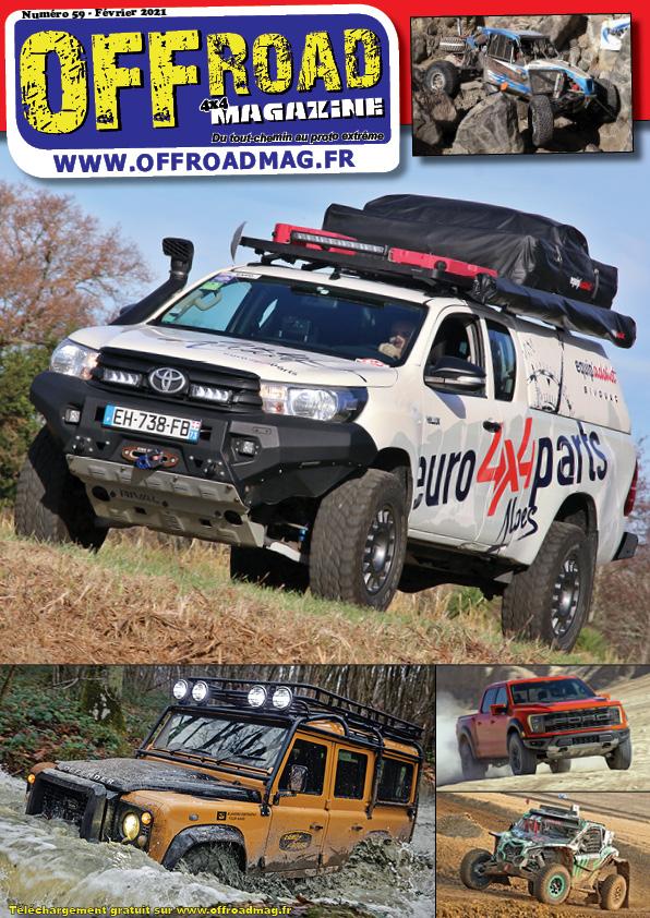 Offroad 4x4 magazine n°59 - le magazine 4x4 totalement gratuit