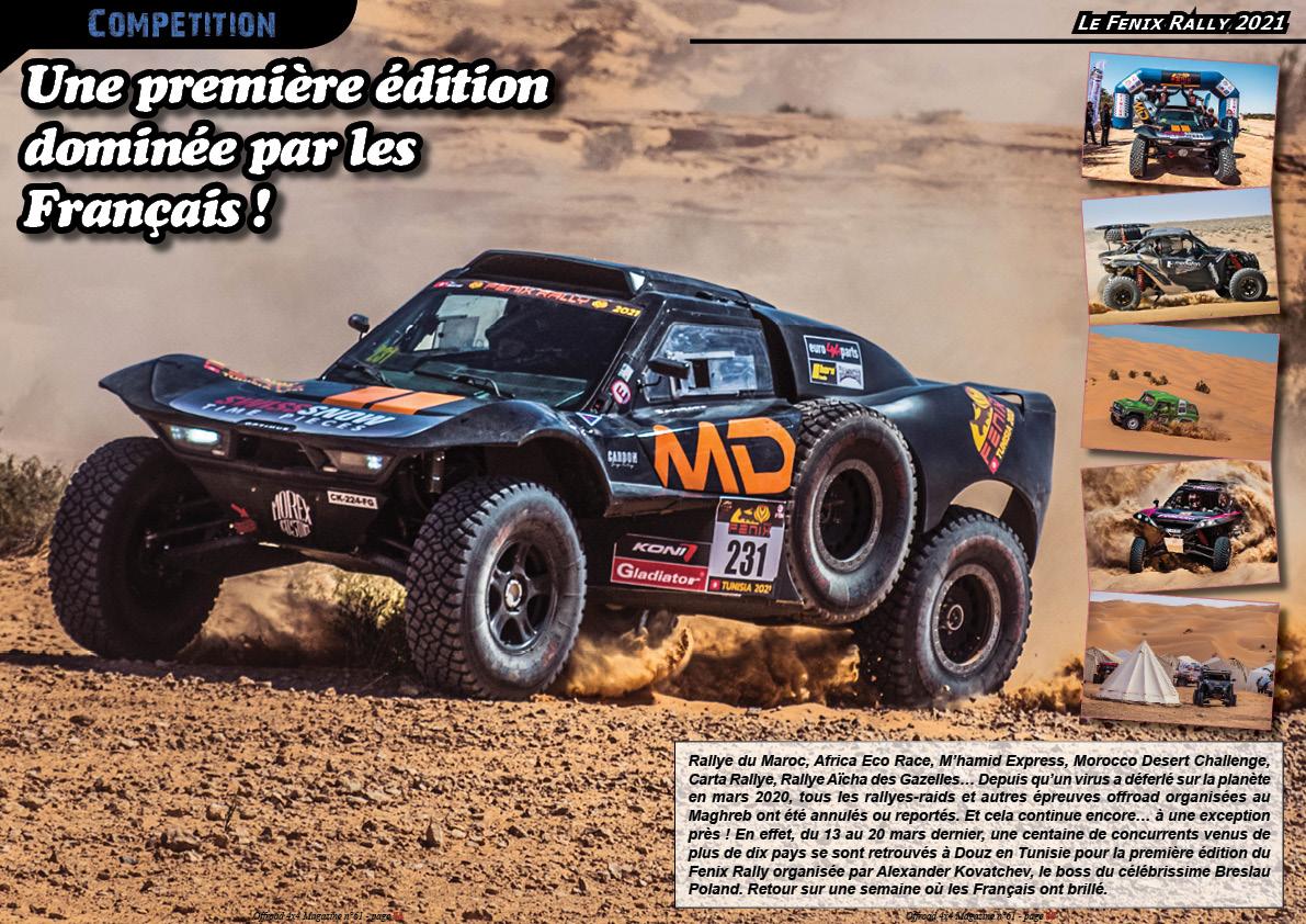 le Fenix Rally 2021