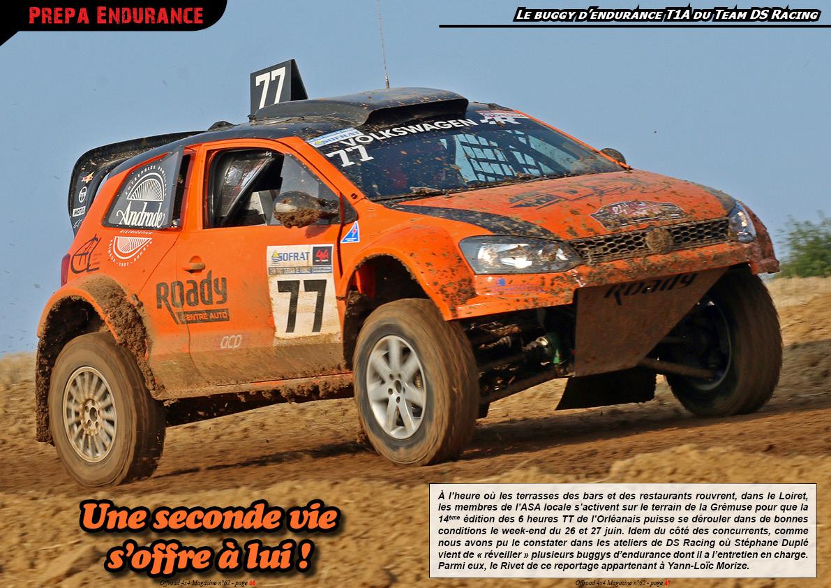 le buggy T1A du Team DS Racing