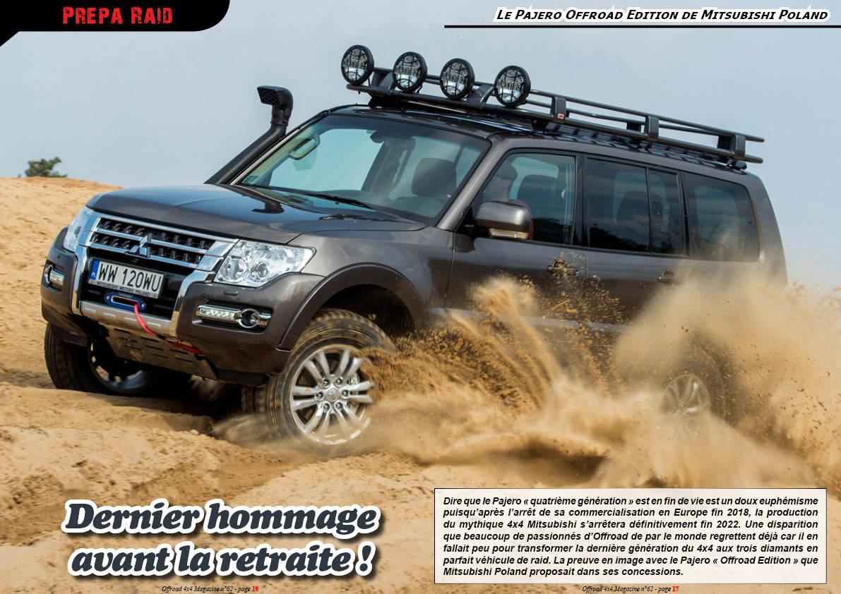 le Pajero Offroad Edition de Mitsubishi Poland