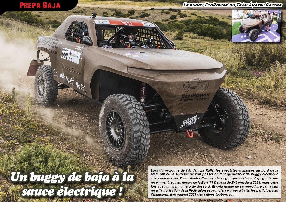 le buggy EcoPower du Team Avatel Racing