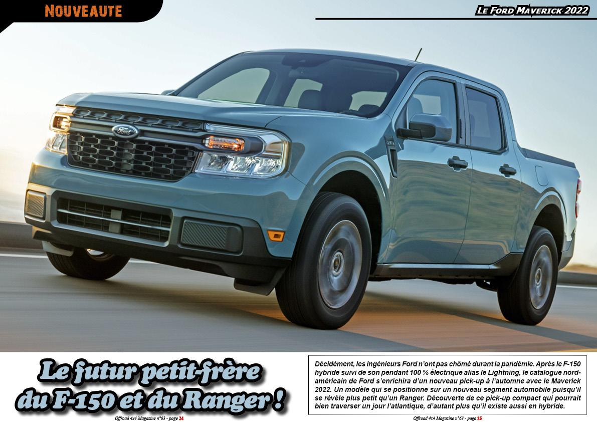 le Ford Maverick 2022