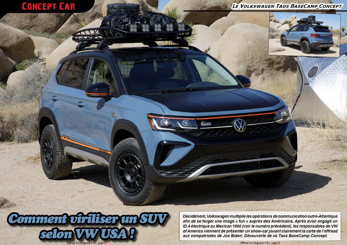 le Volkswagen Taos BaseCamp Concept