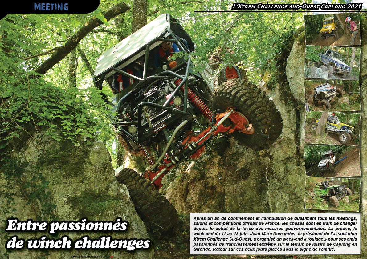 l'Xtrem Challenge sud-Ouest Caplong 2021