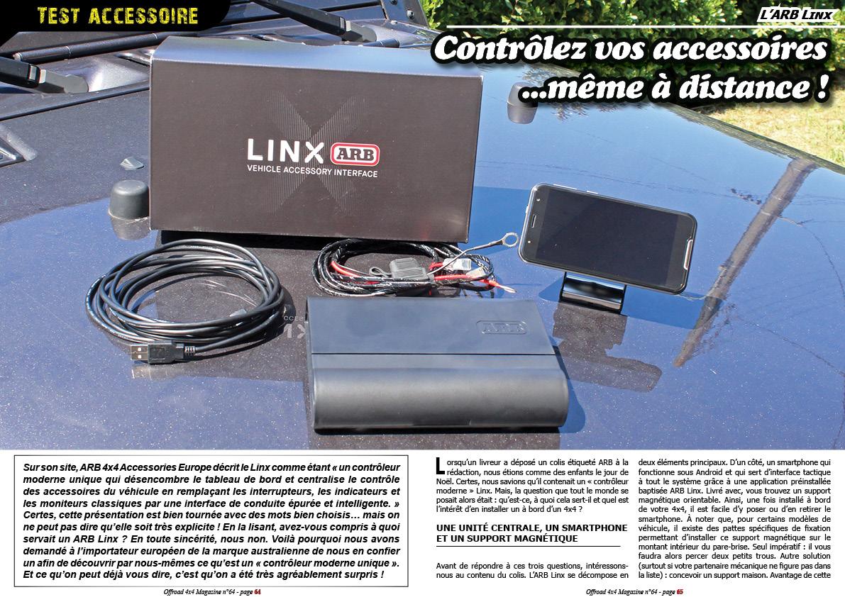Test accessoire: l'ARB Linx