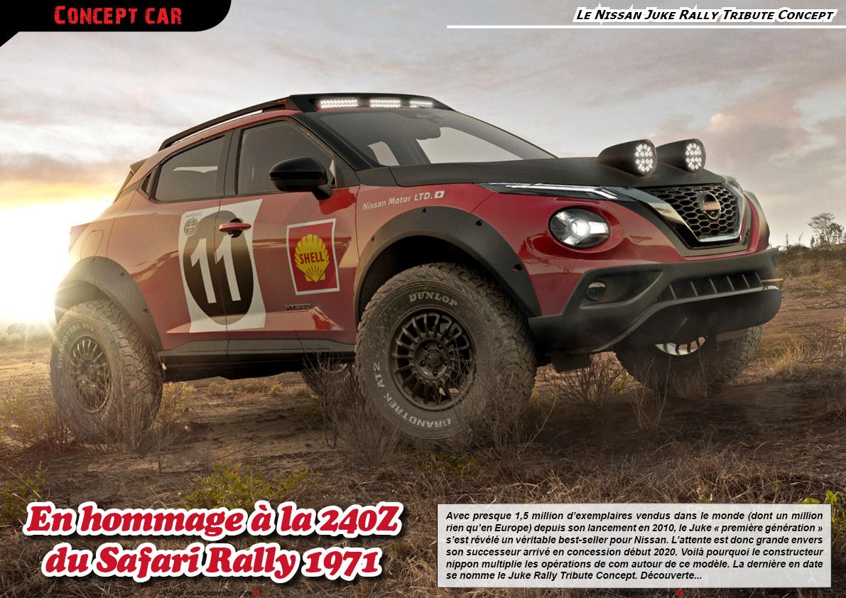 Le Nissan Juke Rally Tribute Concept