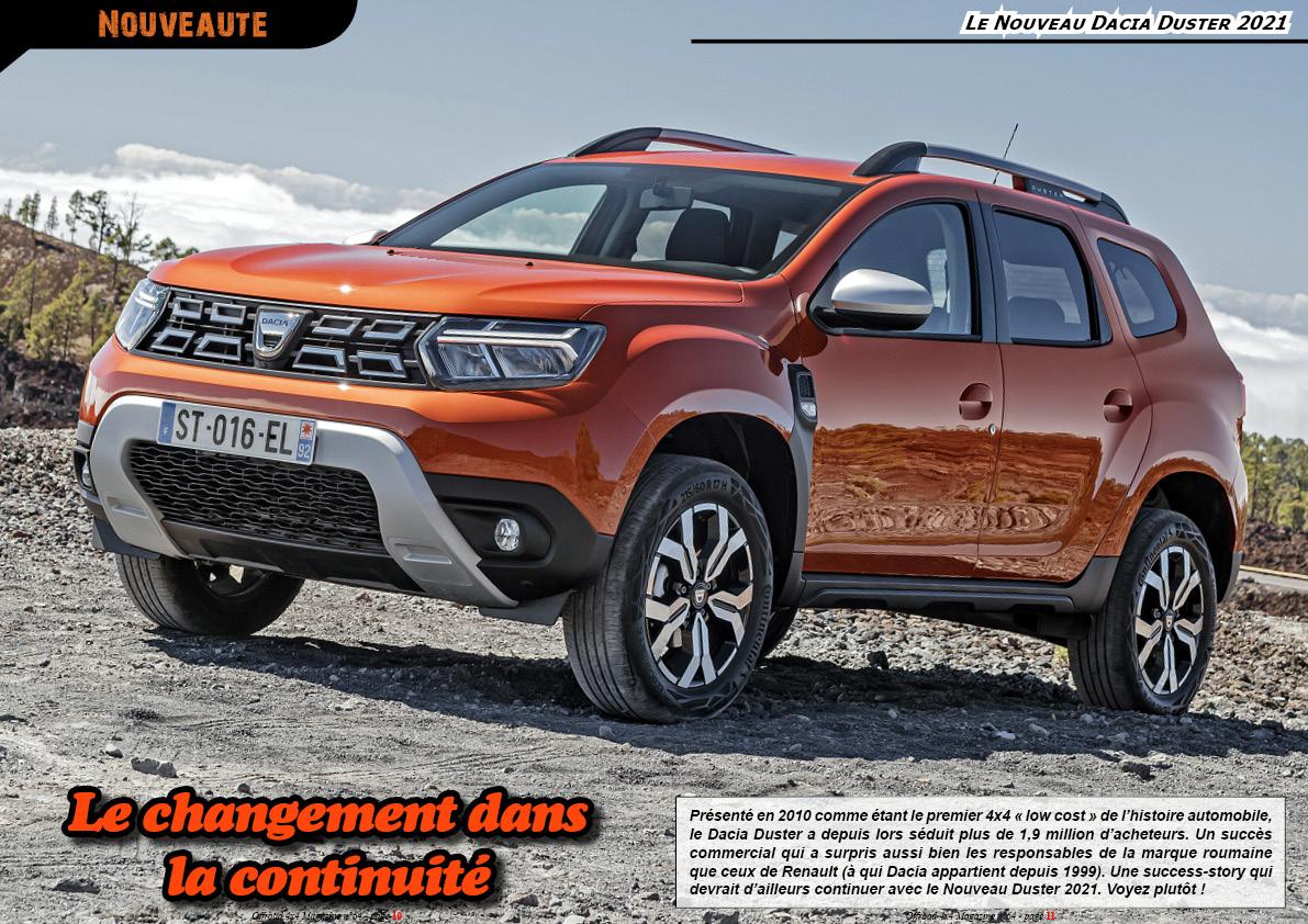 le Nouveau Dacia Duster 2021