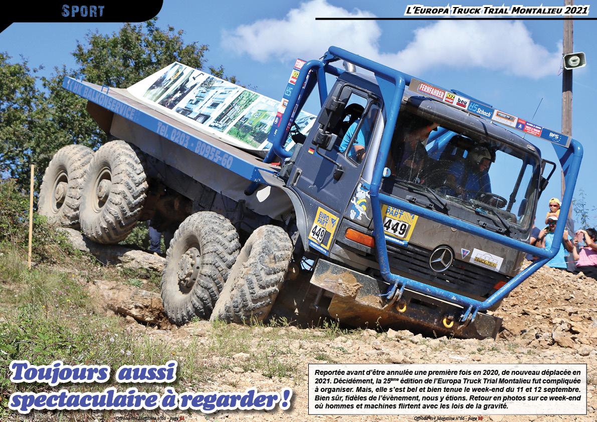 l'Europa Truck Trial Montalieu 2021