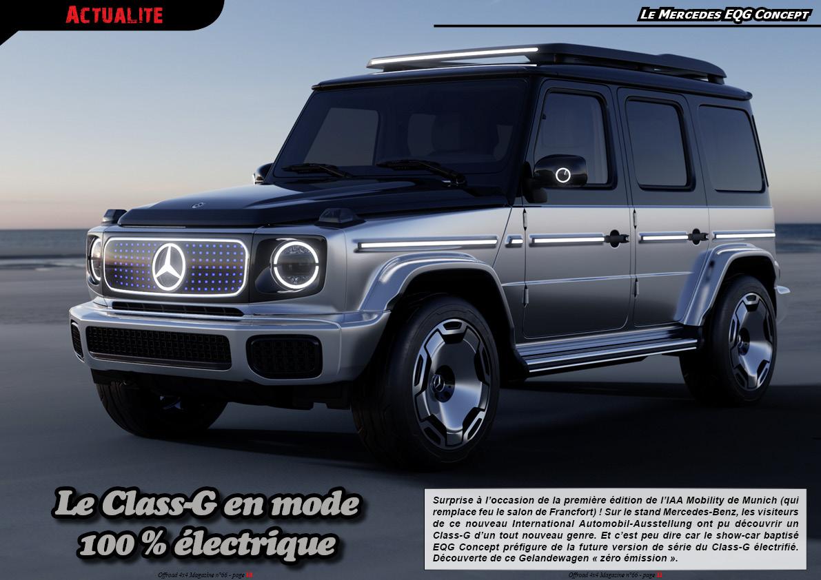 le Mercedes EQG Concept